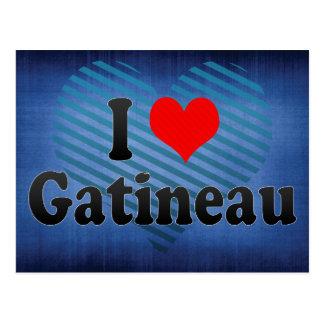 Amo Gatineau, Canadá. Amo Gatineau, Canadá Tarjetas Postales
