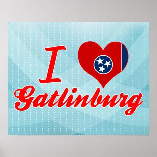 Amo Gatlinburg, Tennessee Poster
