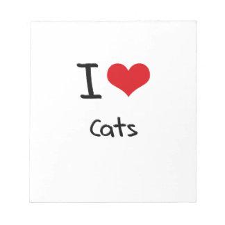 Amo gatos libretas para notas
