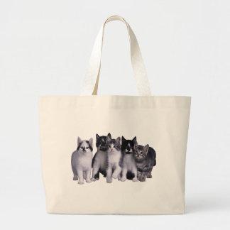 Amo gatos de Junglewalk.com Bolsas