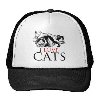 Amo gatos gorros