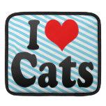 Amo gatos mangas de iPad