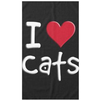 Amo gatos mantel