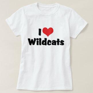 Amo gatos monteses remeras