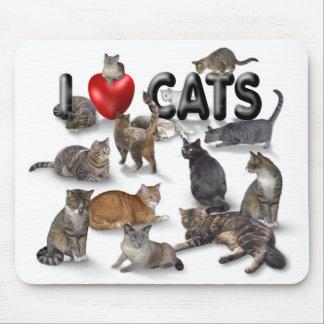 Amo gatos mouse pad