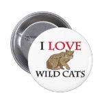 Amo gatos salvajes pins