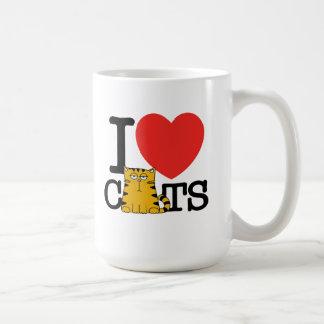 Amo gatos tazas