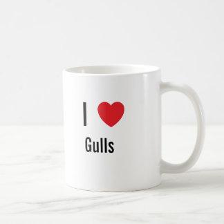 Amo gaviotas tazas de café