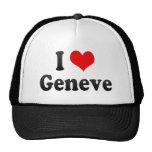 Amo Geneve, Suiza Gorras