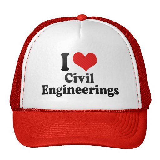 Amo genios civiles gorros