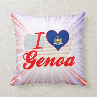 Amo Génova, Nueva York Almohada