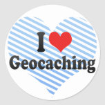 Amo Geocaching Etiqueta