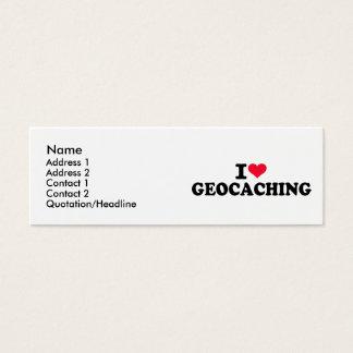 Amo Geocaching Tarjetas De Visita Mini
