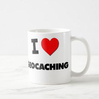 Amo Geocaching Taza