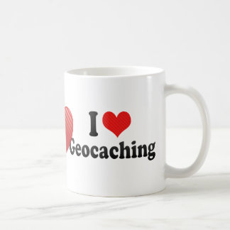 Amo Geocaching Taza Clásica