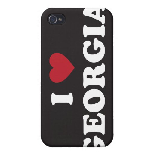 Amo Georgia iPhone 4/4S Funda