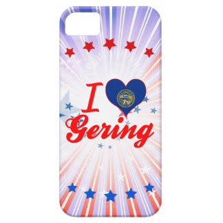 Amo Gering, Nebraska iPhone 5 Carcasa