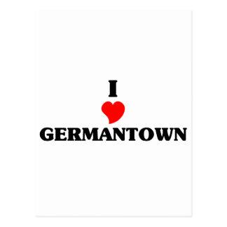 Amo Germantown Postales
