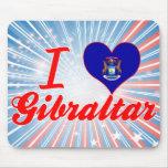 Amo Gibraltar, Michigan Alfombrillas De Ratones