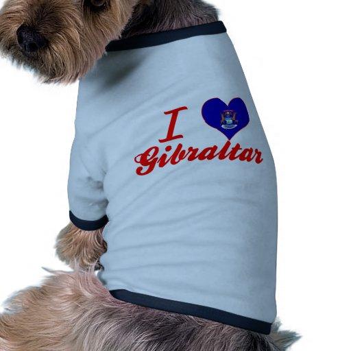 Amo Gibraltar, Michigan Prenda Mascota