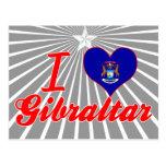 Amo Gibraltar, Michigan Tarjeta Postal