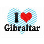 Amo Gibraltar Postales