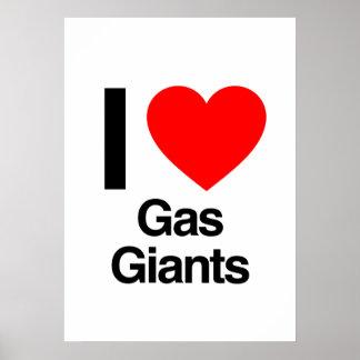 amo gigantes de gas impresiones