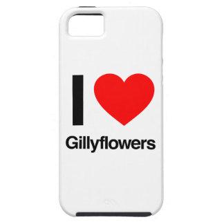amo gillyflowers iPhone 5 cárcasa