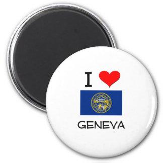 Amo Ginebra Nebraska Imanes