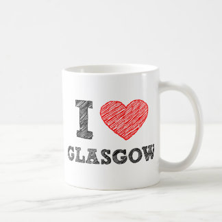 Amo Glasgow Taza De Café