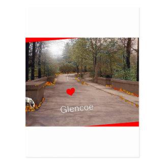 Amo Glencoe Tarjeta Postal