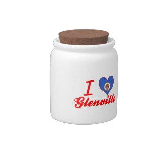 Amo Glenville, Minnesota Jarras Para Caramelos
