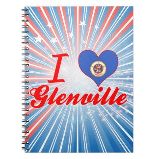 Amo Glenville, Minnesota Libreta Espiral