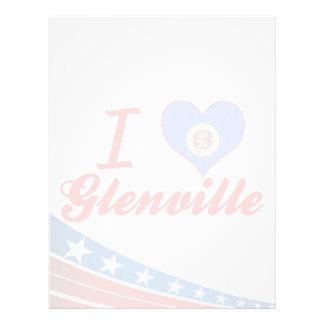 Amo Glenville, Minnesota Membrete A Diseño