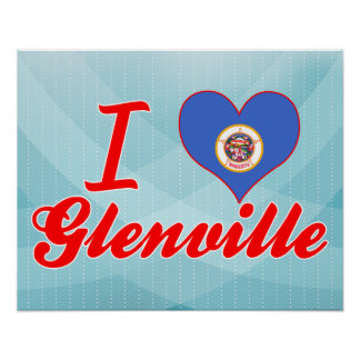 Amo Glenville, Minnesota Poster