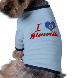 Amo Glenville, Minnesota Camisetas De Perrito