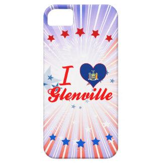 Amo Glenville, Nueva York iPhone 5 Case-Mate Coberturas