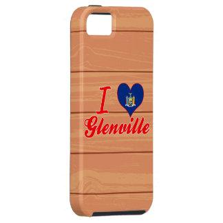 Amo Glenville, Nueva York iPhone 5 Case-Mate Funda