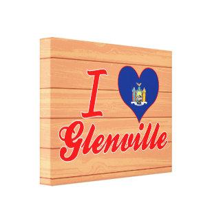 Amo Glenville, Nueva York Impresion De Lienzo