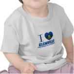 Amo Glenville, PA Camiseta