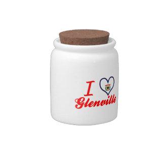 Amo Glenville, Virginia Occidental Plato Para Caramelo