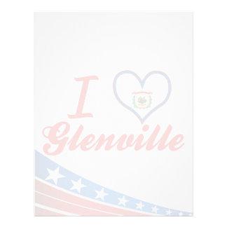 Amo Glenville, Virginia Occidental Membrete A Diseño