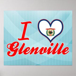 Amo Glenville, Virginia Occidental Poster