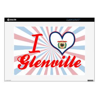 Amo Glenville, Virginia Occidental Skins Para Portátil