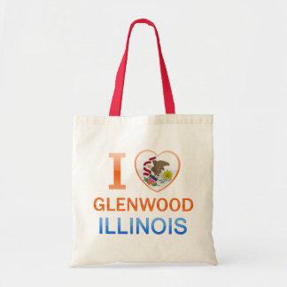 Amo Glenwood, IL Bolsa Tela Barata