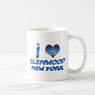 Amo Glenwood, Nueva York Taza Clásica