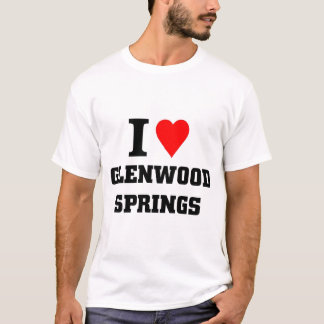 Amo Glenwood Springs Playera