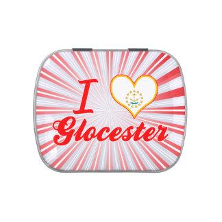 Amo Glocester, Rhode Island Jarrones De Dulces