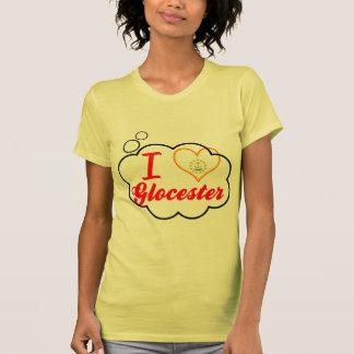 Amo Glocester, Rhode Island Camisetas