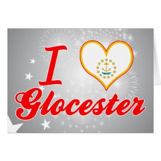 Amo Glocester, Rhode Island Tarjetón
